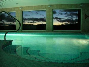 Krytý bazén - Pohádková vesnice